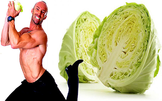 Cabbage, diet and calories. Super dietary vegetable. Cabbage time!