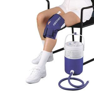 Aircast Knee Cryo/Cuff with Cooler (Non-Motorized)