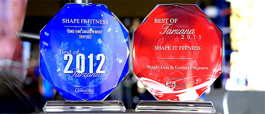 fitness awards la