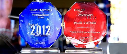 fitness awards la
