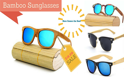 the best bamboo sunglasses