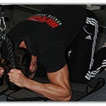 Молитва във фитнес залата