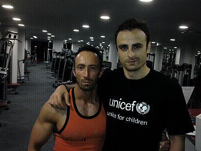 Бербатов фитнес тренировка