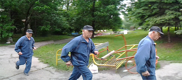 Крос в парка