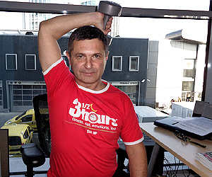 Фитнес в офиса с Милен Цветков