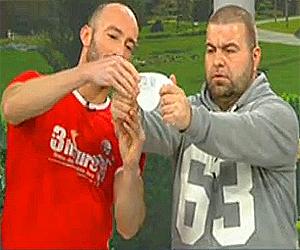 Фитнес инструкторът Mr. 3Hours и Роро Кавалджиев