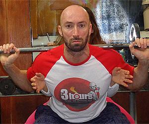 Кратка и ползотворна тренировка за задник - фитнес зала Ивайловград, хотел Тракия