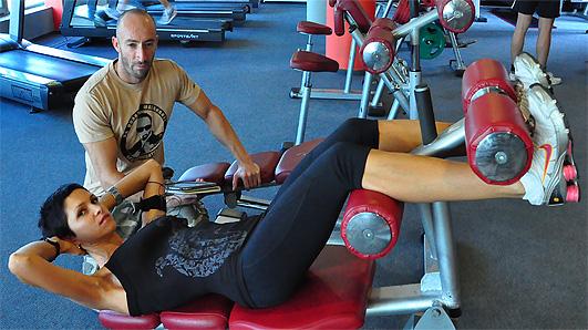 Правилно изпълнение на упражнението коремни преси за горна част на корема