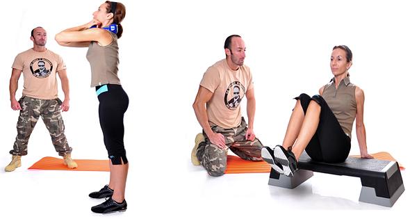 Тренировки с фитнес треньор