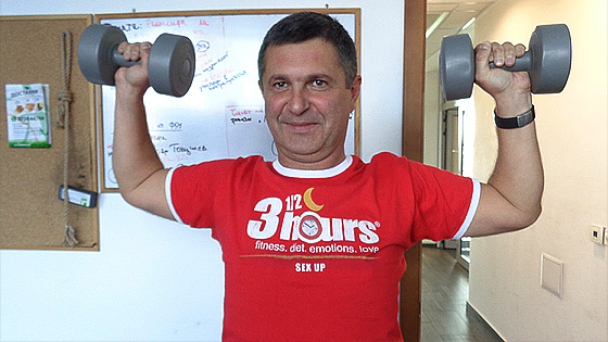 Фитнес упражнения с Милен Цветков