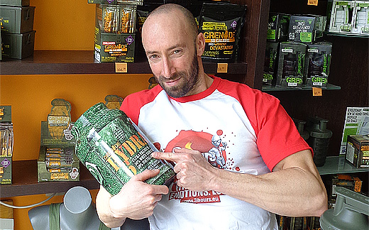 """Бързай бавно с най-новият протеинов шейк """"Hidra 6"""" от Grenade Nutrition"""