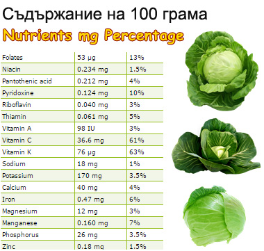 red lettuce nutrition facts
