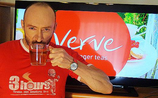 Да подгреем по-лесно за сутрешния крос на открито с джинджър чай Verve!