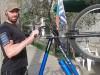 Отслабване с велосипед на открито