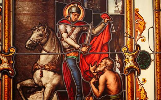Икона Свети Мартин