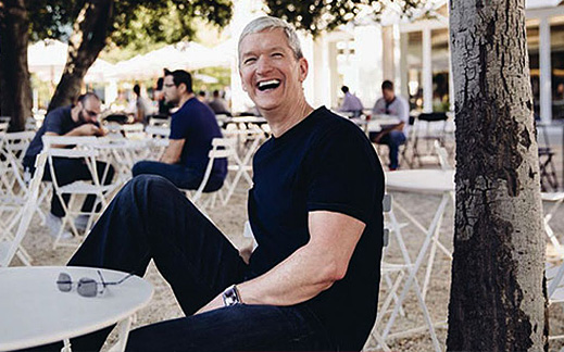 Tim Cook fitness