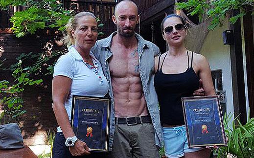 """Отлични резултати в 7 дневния курс за отслабване """"Muscle Beach"""""""
