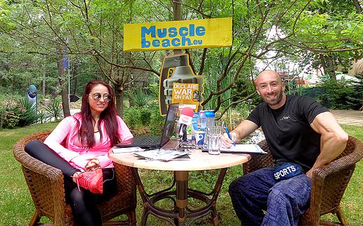 """Задай въпрос по телефона в нашето """"Muscle Beach"""" студио и спечели награда"""