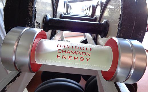 Давидоф във фитнес залата