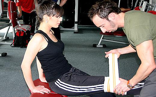 Как да си направим готин задник и да се предпазим от травми с бинтове за клек