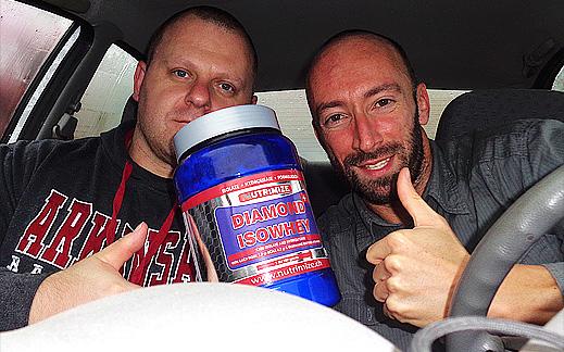 На чаша протеинов шейк в дъжда със Световния шампион Ивайло Христов