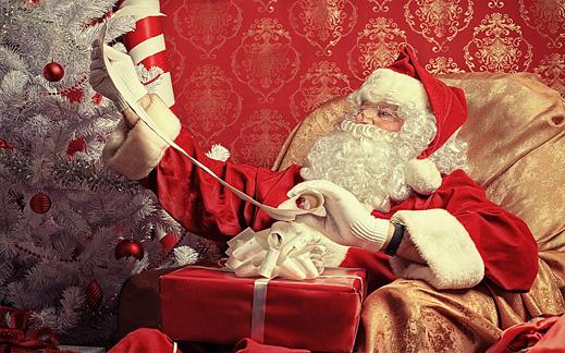 Дядо Коледа под наем в София