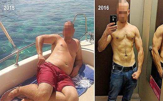 Преди и след в снимки и история с плана за отслабване на Георги Калоянов
