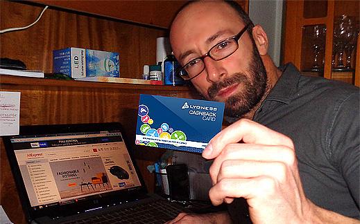 """Безплатна """"Lyoness Card"""" – най-големият Световен доставчик на кешбек!"""