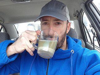 Зелено кафе за отслабване преди фитнес