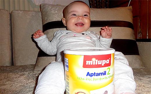 Мляко за бебета най-доброто