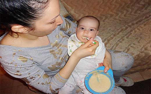 Най-добра каша за бебета