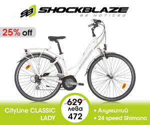 Градски дамски велосипед