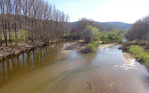Гледка от мост Мандрица