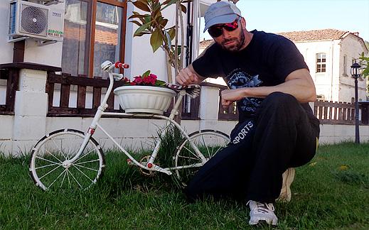 С велосипед до село Мандрица