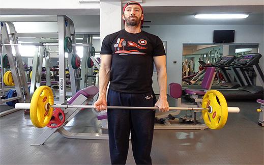 """Да си направим здрав гръб като """"дъб"""" с упражнението мъртва тяга. Видео!"""