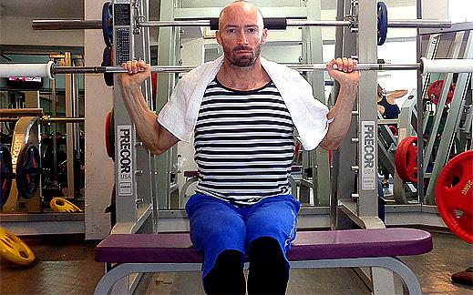 Да изтрием паласките с въртене в кръста и да ги заменим с красиви мускули