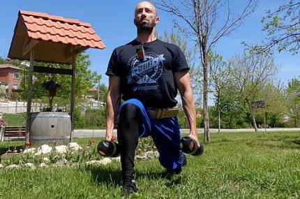 Упражнението напади е упражнение за отслабване и стягане на дупето