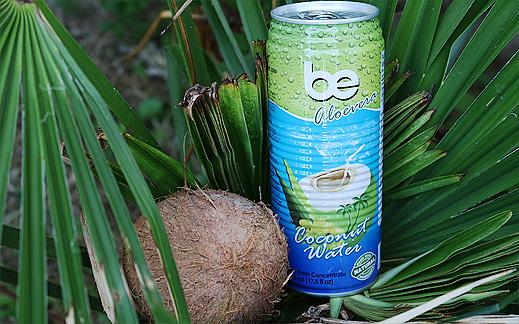 """Кокосова вода """"BE"""" Aloe Vera"""