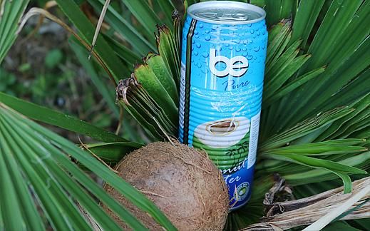 """Кокосова вода """"BE"""" Pure"""