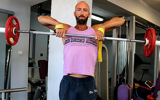 Забравеното упражнение за рамене от Ерата на Шварценегер! Въртолет!!!