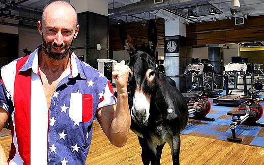 На тренировка за прасци с упражнението на магарето Марко! (+Видео)