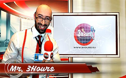 """Репортер под Наем"" e новата рубрика с Mr. 3Hours! Твоят репортер!!!"