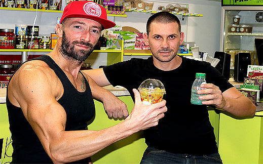 protein bar and shop burgas