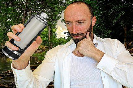 бутилка за водородна вода