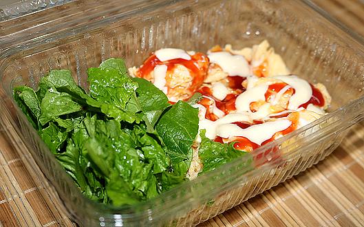 яйчена диета със зелена салата