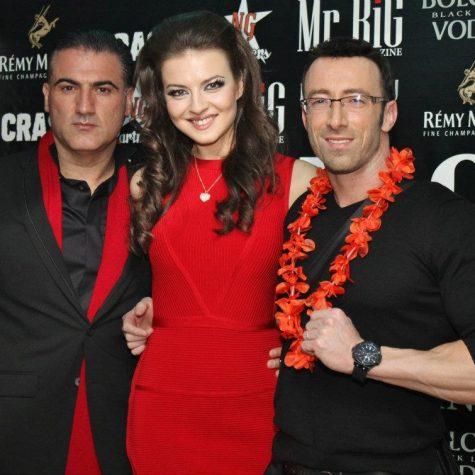 С топ моделът Диана Иванчева и Роналд, Снимка: Хайлайф