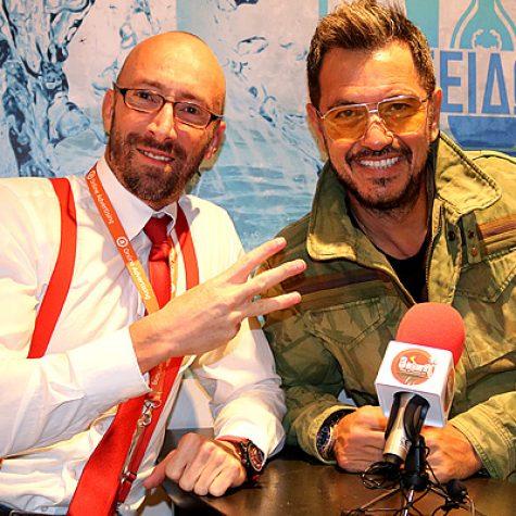 С гръцкия певец Гьоргос Ясемис