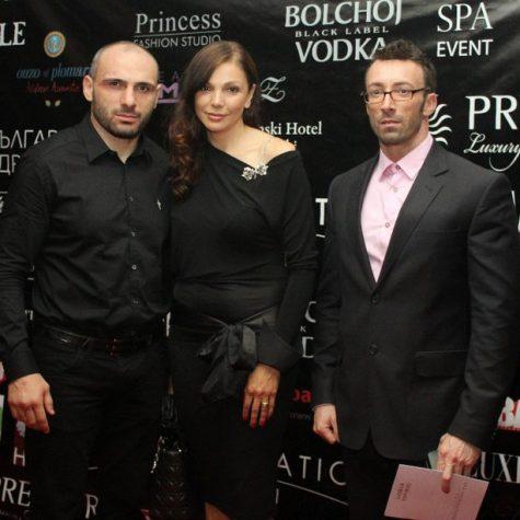 С Юлиана Дончева и Станислав Недков, Снимка: Хайлайф