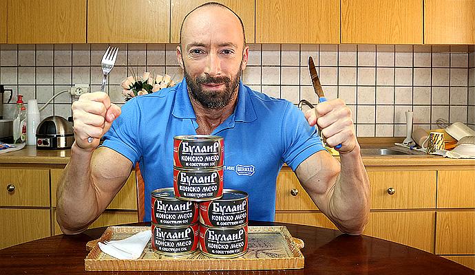 конско месо в консерва от 400 грама