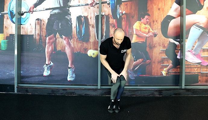Това е сред най-добрите упражнения за загряване на коленете и глезените.